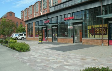 Porphyry Pavers used in Commercial Projects