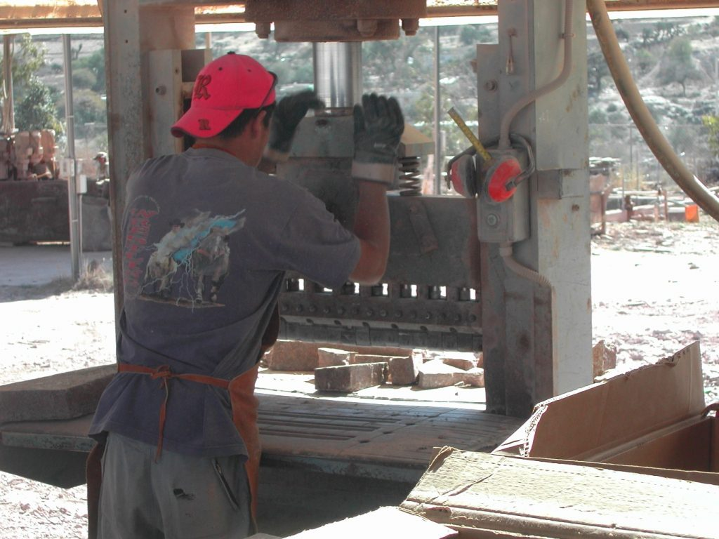 Porphyry in production