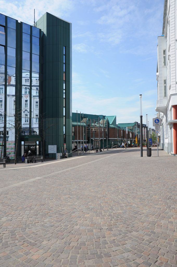 Permeable Paving Systems in commercial districts
