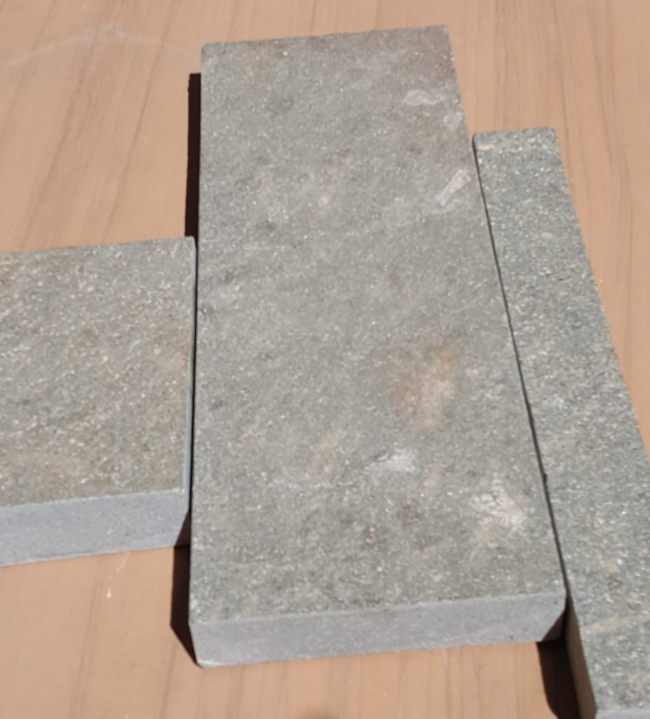 Storm Grey Porphyry with sawn edges